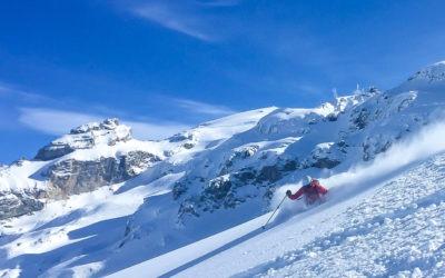 Skiing the Swiss Angel- Engelberg Switzerland