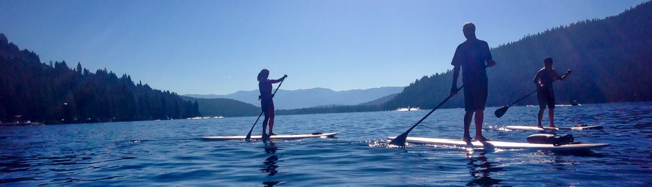 Donner Lake Stand Up Paddle Board Tour