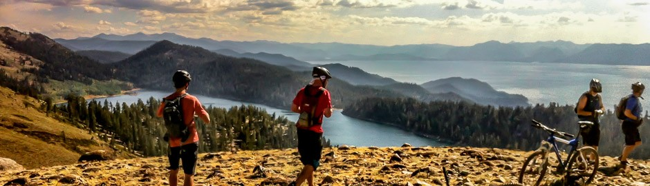 Epic Tahoe Mountain Bike Riding, Le Grand Adventure Tours