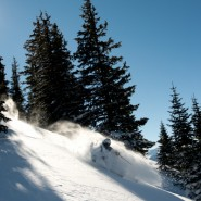 Colorado skiing, Le Grand Adventure Tours. Photo Credit: Hank DeVre'