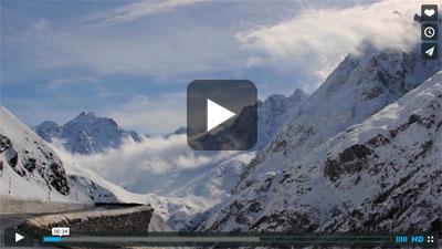 LGA Guide Joe Vallone in La Grave, France Video