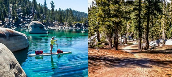 Tahoe Sup and Hike Day Tour
