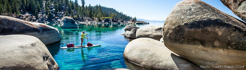 Stand Up Paddle Lake Tahoe