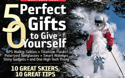 LGA Owner, Jeff Robertson Makes Skiing Magazines Top Cover Shots