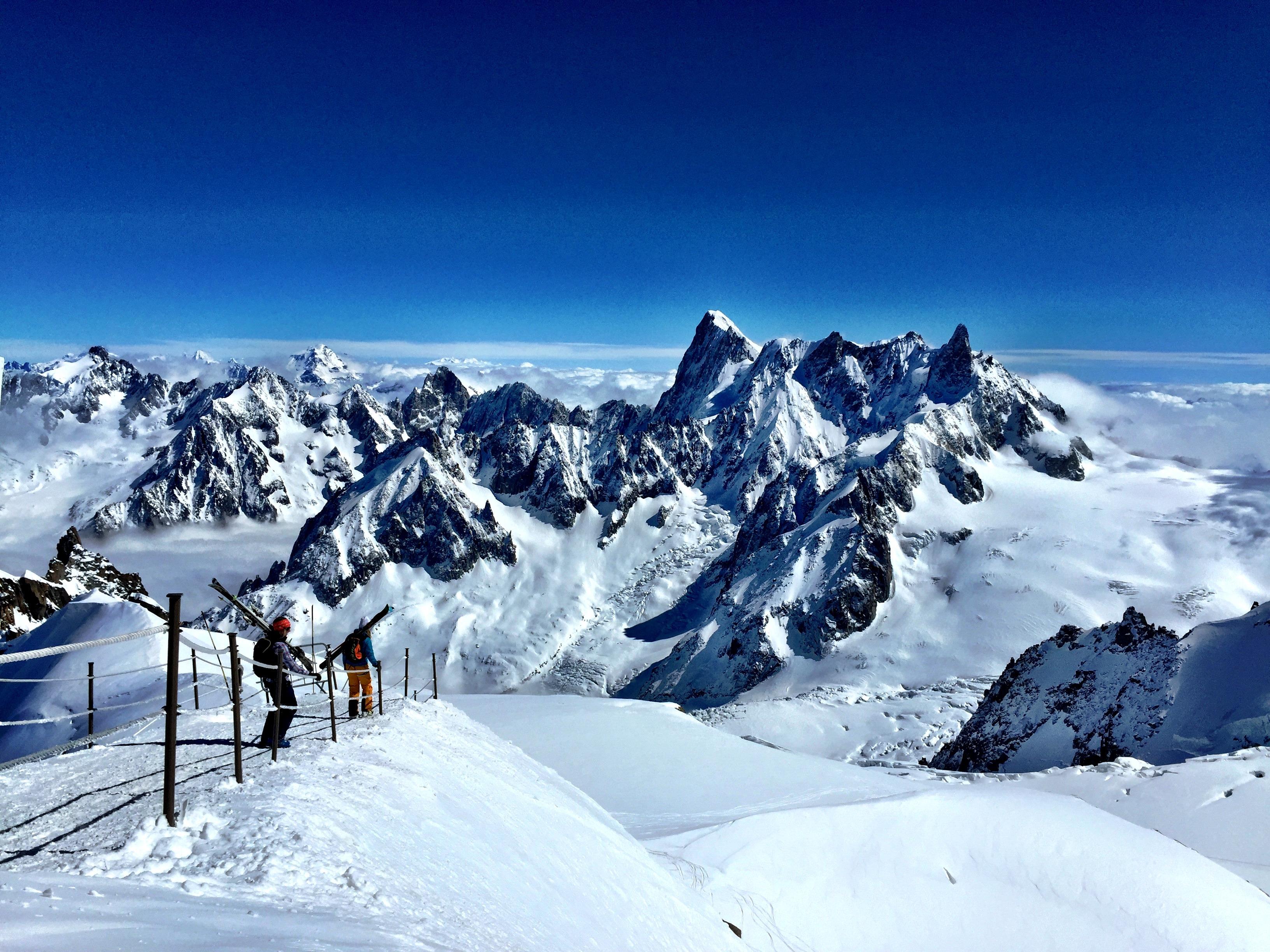 Chamonix Ski Tour 2015 Le Grand Adventure Tours