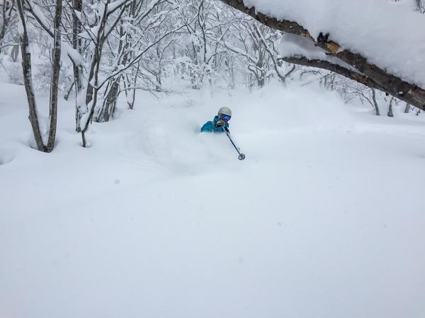 Japanuary in Japan. Deep Powder skiing on Storm Days