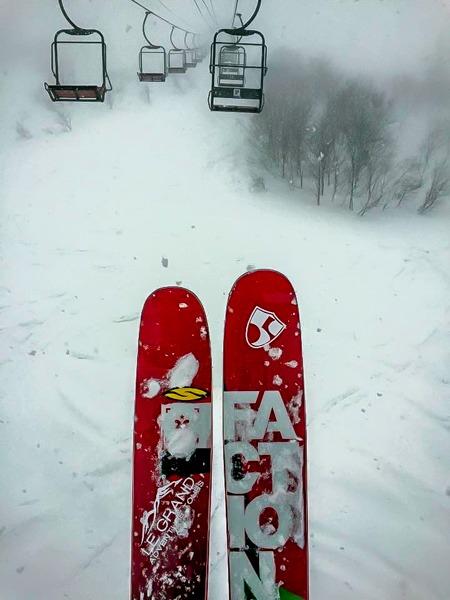 Japanuary in Japan. Nothing Beats Storm Skiing Waist Deep Snow!