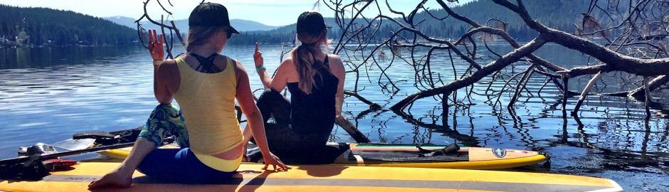SUP yoga Truckee