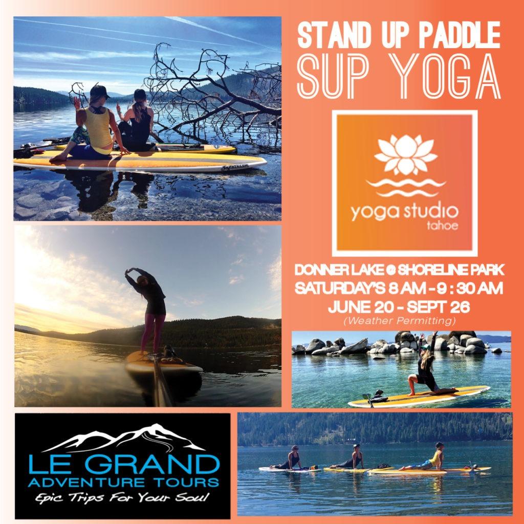 Yoga Studio Tahoe SUP Yoga Partnership
