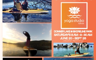 Yoga Studio Tahoe SUP Yoga Partnership