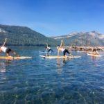 Truckee SUP Yoga on Donner Lake