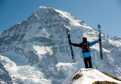 Switzerland Ski Tours with Le Grand Adventure Tours in the Jungfrau Region based in Murren.