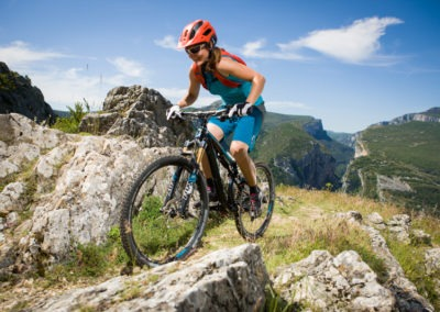 Womens Swiss Alps Mountain Bike Tour