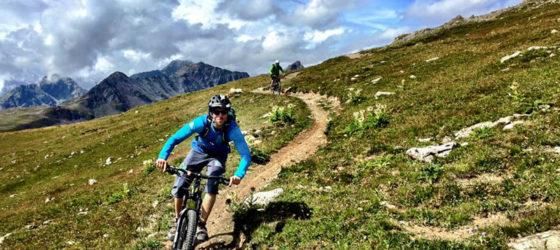 Mountain Bike Davos / St. Moritz Tour