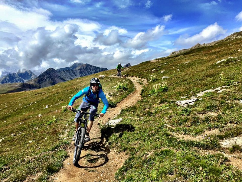 Mountain Bike Davos / St. Moritz Tour