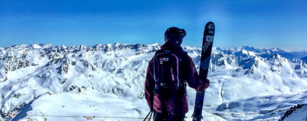 Ski Touring into the Backcountry of Andermatt