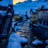 Andermatt Sunset After Another Powder Day