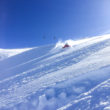 Deep Powder Skiing in the Steinberg Engelberg Switzerland