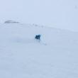 Deep pow day in Engelberg, Switzerland
