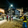 Late night apres in Engelberg, Switzerland