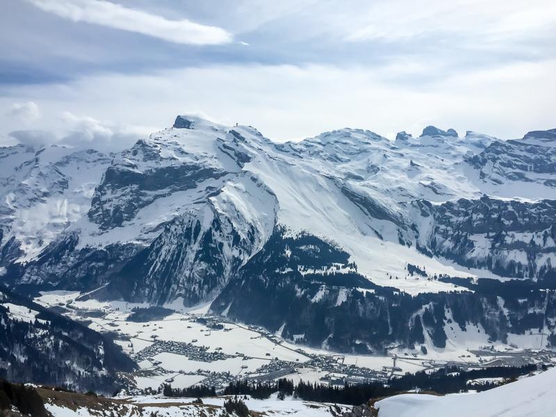 Looking at the Laub in Engelberg, Switzerland