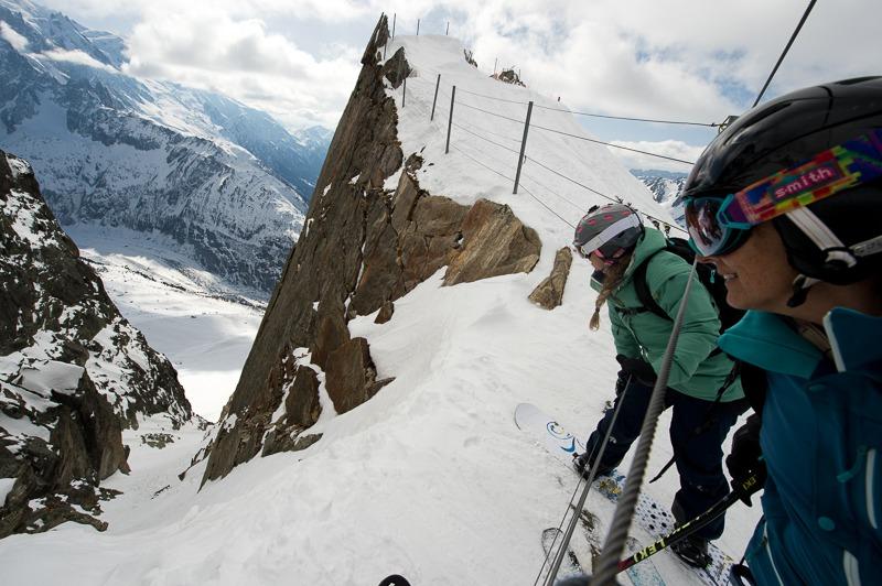 Women's Chamonix Ski Tour - Le Grand Adventure Tours